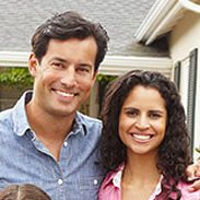 A picture of a couple  - Homeowners who went Solar